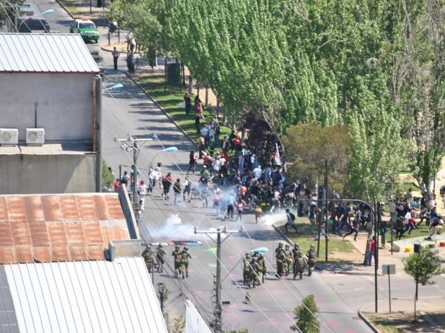 Manifestaciones estudiantiles. | Paul van Treek