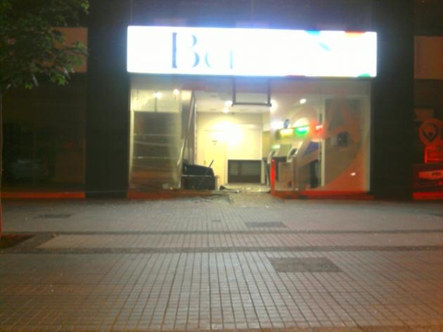 Intento de robo a cajero automático | Sergio Cáceres