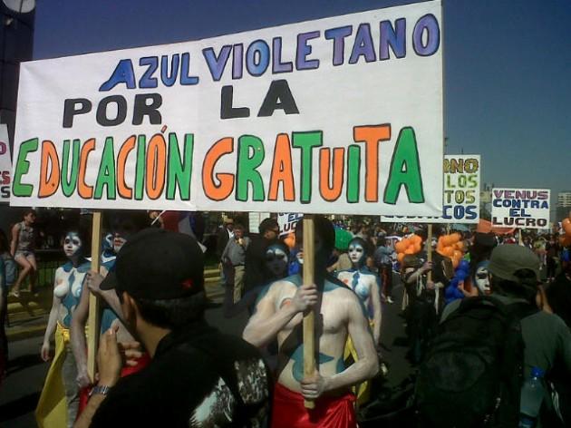 Marcha de la Usach | Nicolás Sepúlveda (RBB)