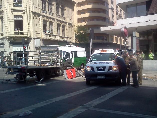Accidente en Santiago | Patricio Coggiola