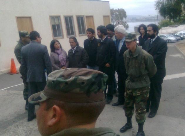 Denuncia en Fiscalía Militar | Francisco Ovalle (RBB)