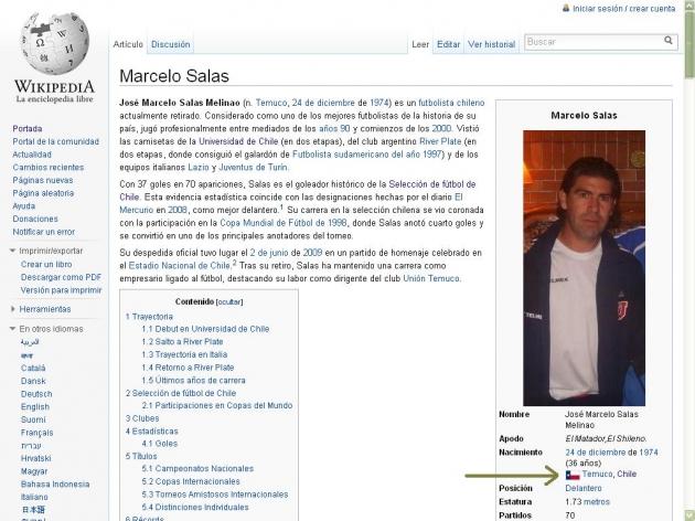 Error Wikipedia | Iván Núñez