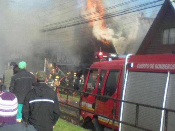 Incendio en Temuco | @wolfdark79 en Twitter