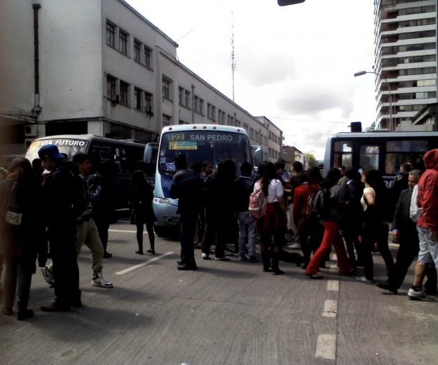Toma de calles en Concepción | Carolina Mardones