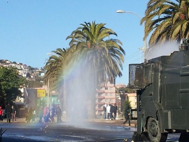 Barricadas en UPLA | Francisco Ovalle