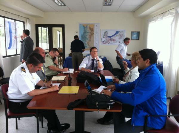 Coordinación de autoridades | @GoberElqui