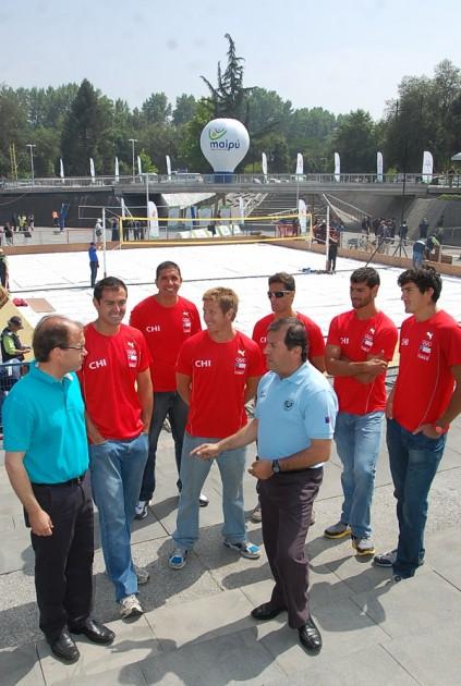 Lanzamiento oficial del Preolímpico de Volley Playa