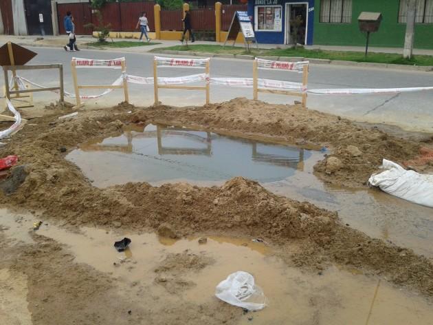 Agua perdida en Quilpué | Bernardo Osorio Estay