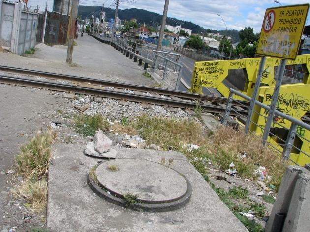 Cruce Peatonal línea férrea Av. Paicaví, Vicuña Mackenna | Cristian  Capponi