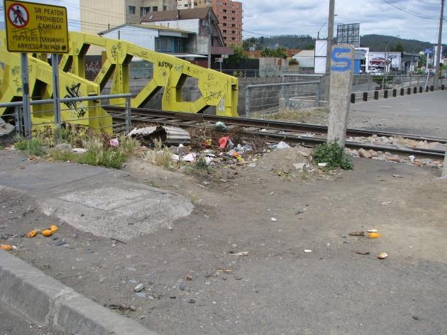 Cruce Peatonal línea férrea Av. Paicaví, Vicuña Mackenna   Cristian  Capponi