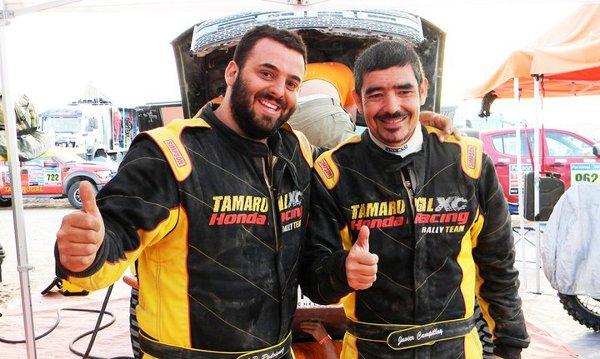 Juan Pablo Rodríguez y Javier Campillay | Tamarugal XC Honda Racing Team