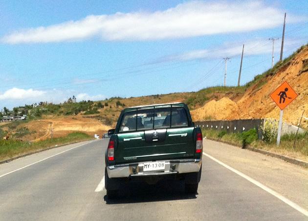 Camioneta imprudente | Jorge G. B.