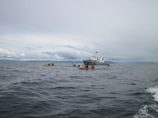V Raid Náutico Internacional Cruce del Estrecho de Magallanes