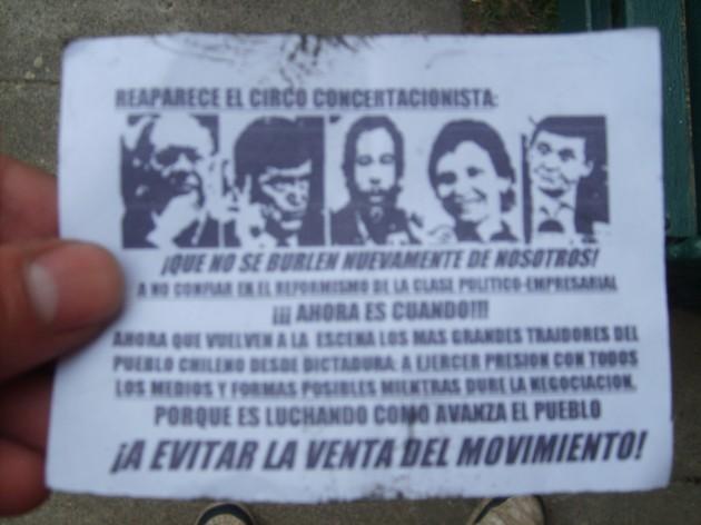 panfleto | María Gabriela Valdebenito