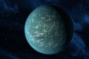 Imagen:Ilustración Kepler 22b | NASA