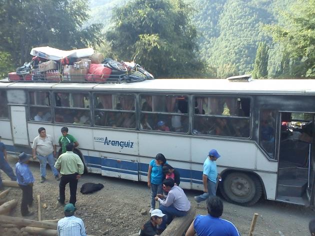 Transporte de pasajero indigno | Felix Tranamil Larenas