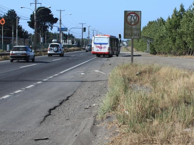 Señal de tránsito sin mantención | Rodrigo Vargas Martinez