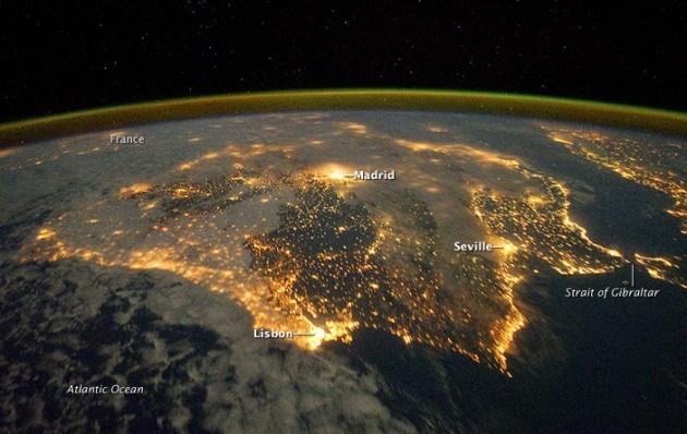 La imagen de la NASA