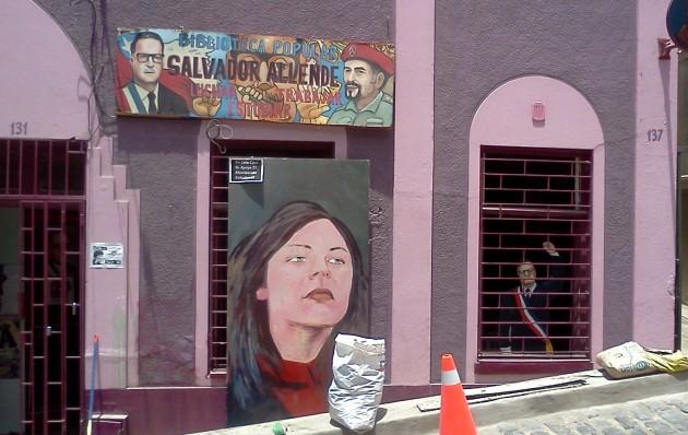Camila Vallejo en Valparaíso | Christian Leal