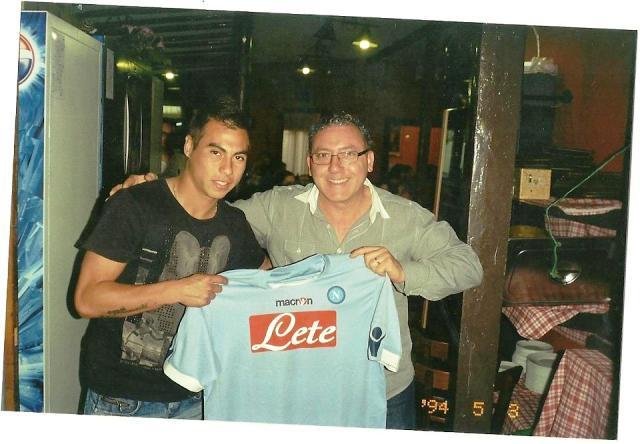 Eduardo Vargas y Vincenzo Guarino