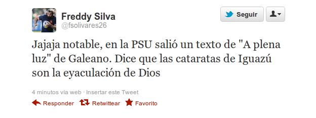 @fsolivares26 en Twitter