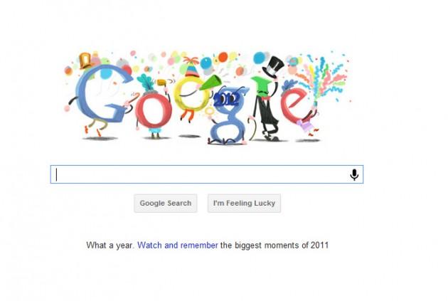 ¡Feliz año nuevo!   Google