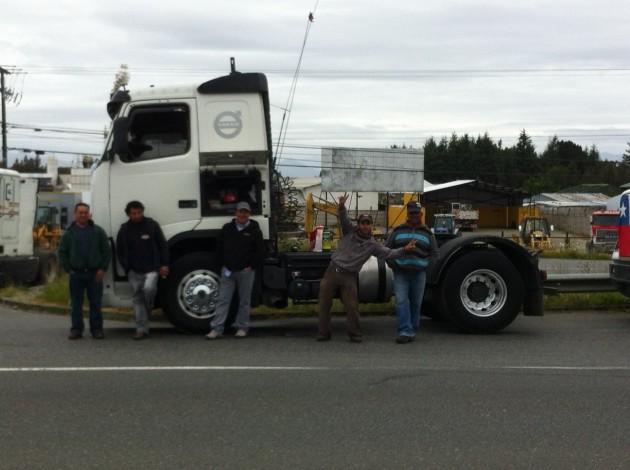 Camioneros movilizados | Jorge Inzulza (RBB)