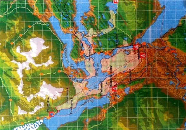 Mapa de la Zona Afectada | Onemi