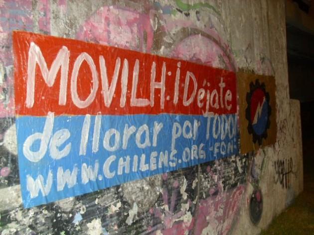 Afiche del FON contra el Movilh
