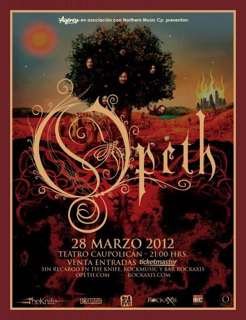 Opeth regresa a Chile