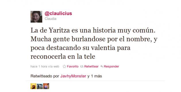 Claulicius en Twitter