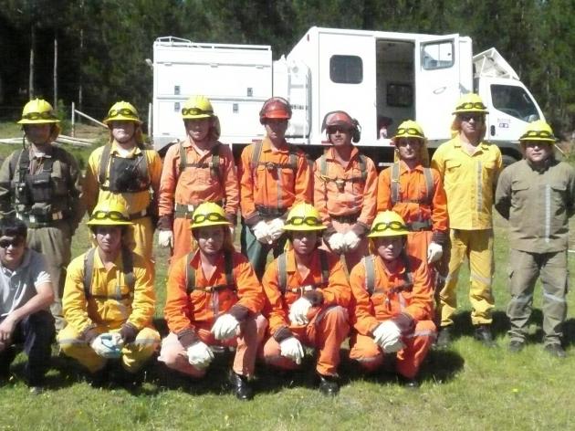 La Gloriosa  Brigada de Incendios 317 | Brigadistas Forestales