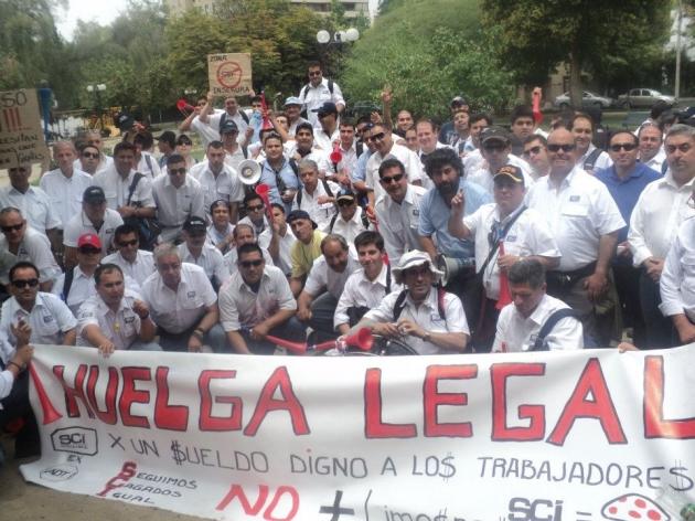 Huelga empresa SCI | Nehemías Narváez