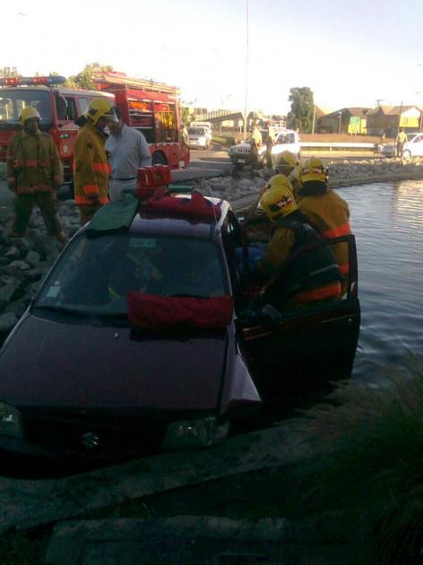 Accidente en Rotonda Bonilla | Valeska Belmar (RBB)