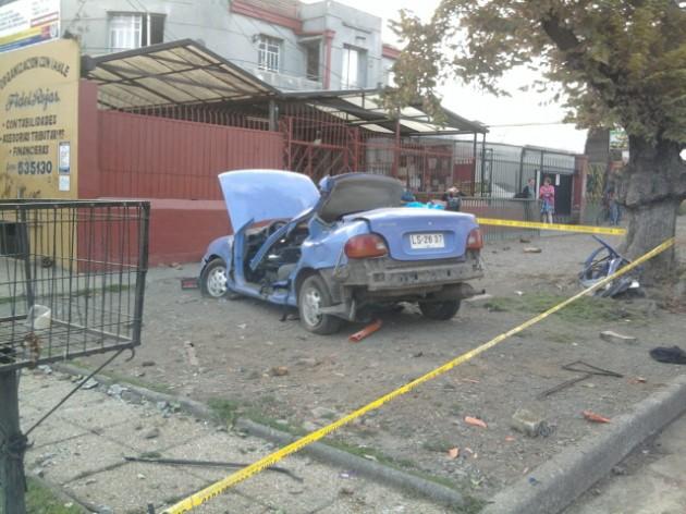 Accidente   Sergio Osses (RBB)