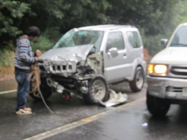 Accidente Cabrero | Rollf Sanzana