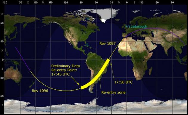 Caída de la Phobos-Grunt | Zarya.info