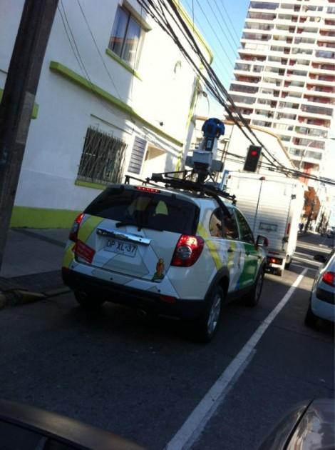 Google Street View en Concepción | @fernandobrito23 en Twitter
