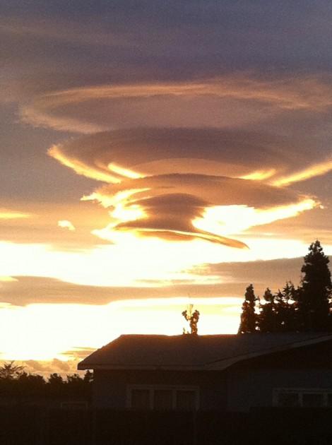 Cielo de Puerto Natales