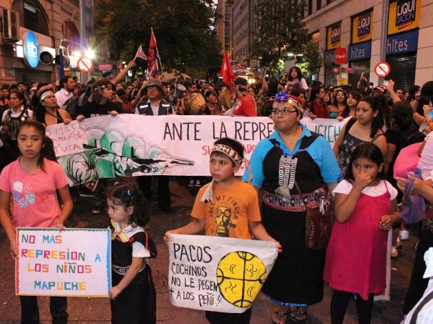 Apoyo al pueblo mapuche  Rocío Núñez