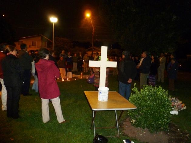 conmemoracion 27 F | Junta de vecinos Villa Los Boldos