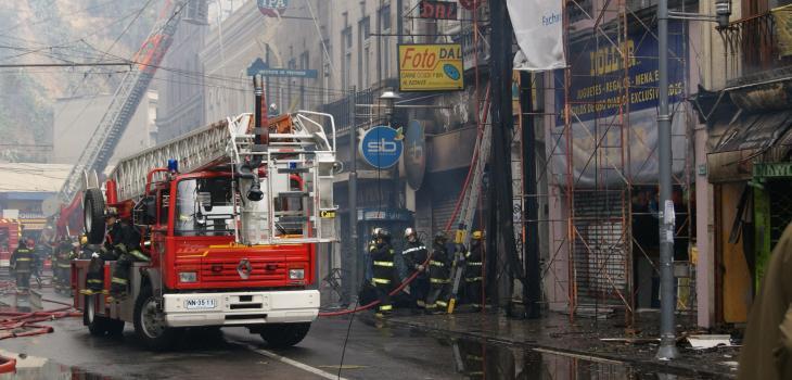 Incendio Condell | Archivo