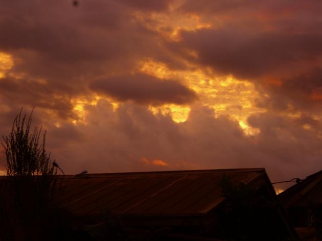 Majestuoso espectáculo de nubes en el atardecer de Rancagua | Roberto Pinto