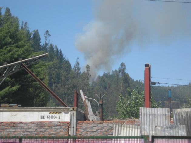 Incendio en Palomares | Alfonso López title=
