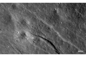 Imagen:Una de las imágenes de la Luna | NASA