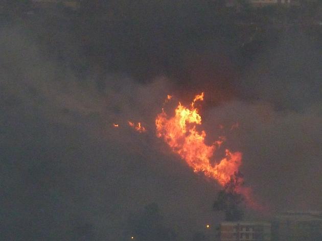 incendio las pataguas canal beagle   christian pinilla