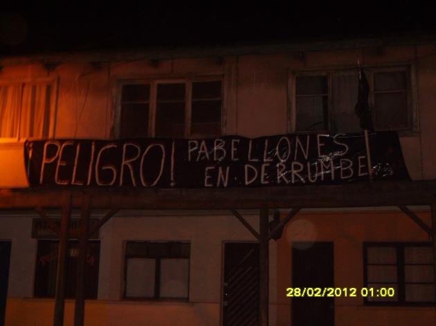 Pabellones sin reconstrucción | Yeniffer Elizabeth Fuentealba Hernández