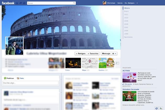 Perfil nuevo de Facebook