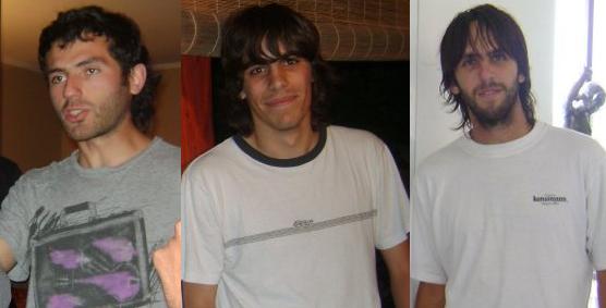 De izquierda a derecha: José Valdivieso, Sebastián Rauld y Cristóbal Rauld | www.panguipullinoticias.cl
