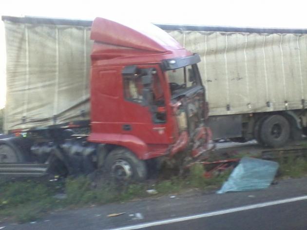 Choque en Ruta 160 | Wladimir Cofré